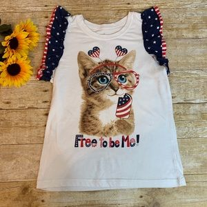 Other - America cat T-Shirt. Size 10 / 12 large